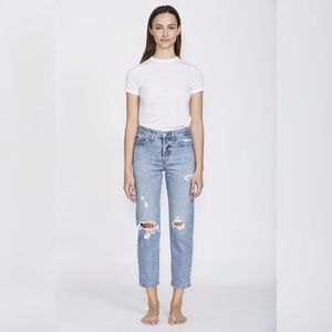 [Levi's] Wedgie Straight Authentically Yours